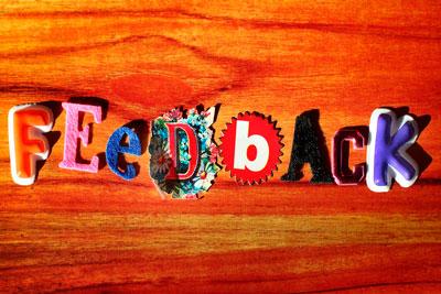 Feedback. Comentarios en el blog